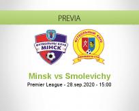 Pronóstico Minsk Smolevichy-STI (28 septiembre 2020)