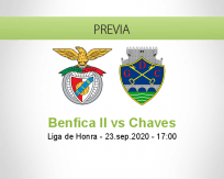 Benfica II vs Chaves