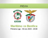 Marítimo vs Benfica