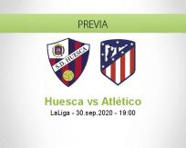Huesca vs Atlético Madrid