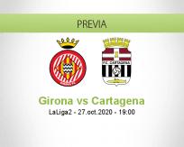 Pronóstico Girona FC Cartagena (27 octubre 2020)