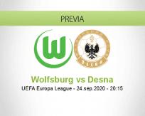 Pronóstico Wolfsburg Desna (24 septiembre 2020)