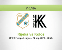 Pronóstico Rijeka Kolos Kovalivka (24 septiembre 2020)