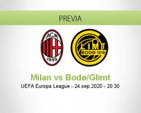 Milan vs Bodø / Glimt
