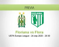 Pronóstico Floriana Flora (24 septiembre 2020)