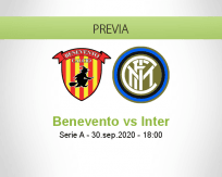 Benevento vs Internazionale