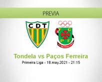 Pronóstico Tondela Paços Ferreira (18 mayo 2021)
