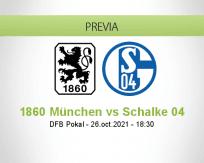Pronóstico 1860 München Schalke 04 (26 octubre 2021)