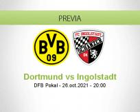 Pronóstico Dortmund Ingolstadt (26 octubre 2021)