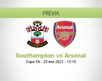 Pronóstico Southampton Arsenal (23 enero 2021)