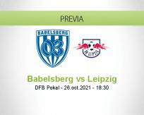 Pronóstico Babelsberg Leipzig (26 octubre 2021)