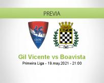 Pronóstico Gil Vicente Boavista (19 mayo 2021)