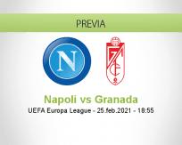 Pronóstico Napoli Granada (25 febrero 2021)