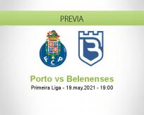 Pronóstico Porto Belenenses (19 mayo 2021)