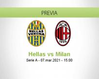 Hellas vs Milan