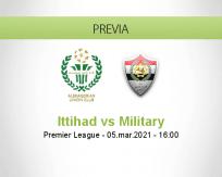 Pronóstico Ittihad Military (05 marzo 2021)
