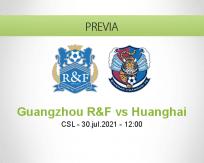 Pronóstico Guangzhou R&F Huanghai (30 julio 2021)