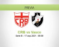 Pronóstico CRB Vasco (16 septiembre 2021)