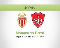 Monaco vs Brest