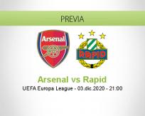 Arsenal vs Rapid