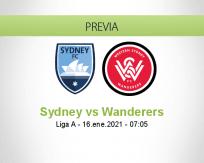 Pronóstico Sydney Wanderers (16 enero 2021)