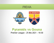 Pronóstico Pyramids Gouna (25 febrero 2021)