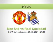 Man Utd vs Real Sociedad