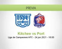 Pronóstico Kitchee Port (24 junio 2021)