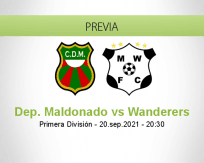 Pronóstico Dep. Maldonado Wanderers (20 septiembre 2021)