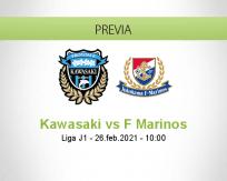 Pronóstico Kawasaki F Marinos (26 febrero 2021)