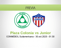Plaza Colonia vs Junior