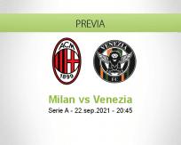 Milan vs Venezia