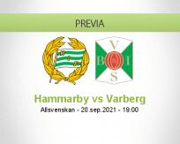 Pronóstico Hammarby Varberg (20 septiembre 2021)
