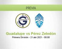 Pronóstico Guadalupe Pérez Zeledón (21 abril 2021)