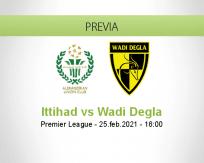 Pronóstico Ittihad Wadi Degla (25 febrero 2021)
