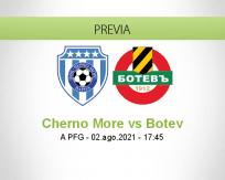 Pronóstico Cherno More Botev (02 agosto 2021)