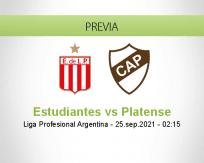 Estudiantes vs Platense