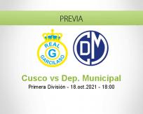 Pronóstico Cusco Dep. Municipal (18 octubre 2021)