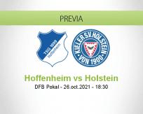 Pronóstico Hoffenheim Holstein (26 octubre 2021)