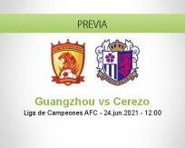 Pronóstico Guangzhou Cerezo (24 junio 2021)