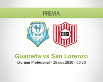 Guaireña vs San Lorenzo