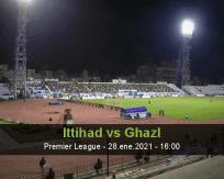 Pronóstico Ittihad Ghazl (28 enero 2021)