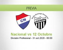 Nacional vs 12 de Octubre