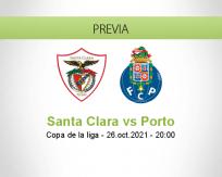 Pronóstico Santa Clara Porto (26 octubre 2021)