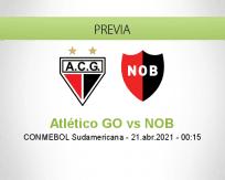 Pronóstico Atlético GO NOB (20 abril 2021)