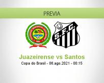 Juazeirense vs Santos