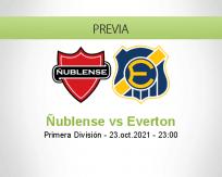 Pronóstico Ñublense Everton (23 octubre 2021)