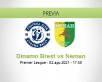 Pronóstico Dinamo Brest Neman (02 agosto 2021)