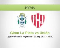 Pronóstico Gimn La Plata Unión (20 septiembre 2021)