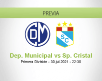 Dep. Municipal vs Sp. Cristal